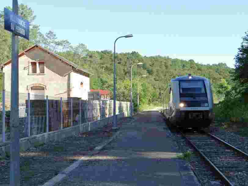 Le rapport SNCF prône le remplacement de 10.000 km de lignes de train par le bus — voici toutes celles qui sont visées