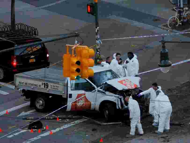 Une attaque au camion a fait 8 morts à New York — voici ce que l'on sait