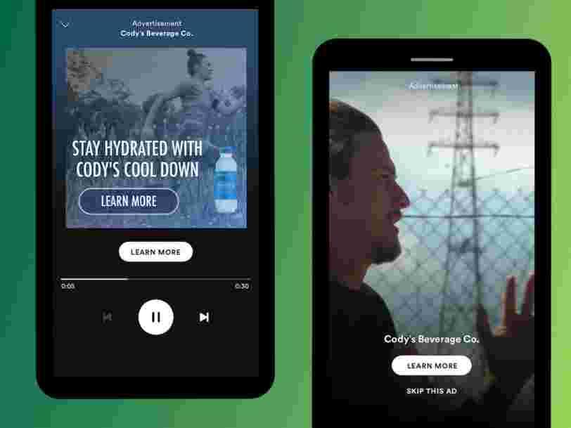 Spotify teste une version gratuite qui permet aux utilisateurs de zapper les publicités — et ça pourrait lui rapporter gros