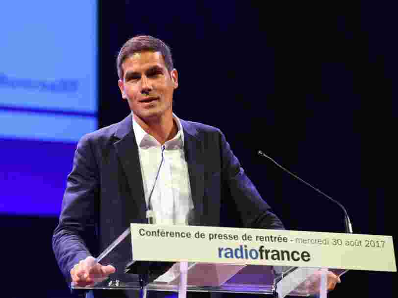 Mathieu Gallet vient de perdre son poste à la tête de Radio France