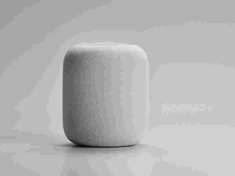Apple développe un concurrent d'Amazon Echo appelé 'HomePod'