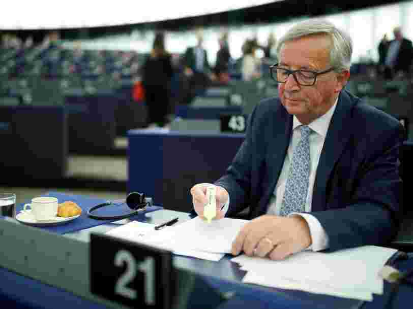 Jean-Claude Juncker a un plan pour freiner les rachats étrangers en Europe d'entreprises 'stratégiques'