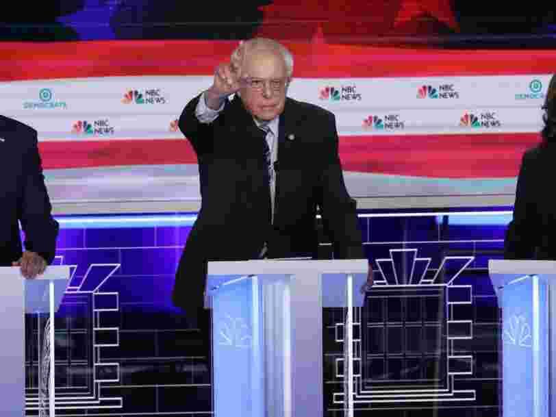 Primaire démocrate : Kamala Harris vraie star du débat, devant les favoris Joe Biden et Bernie Sanders