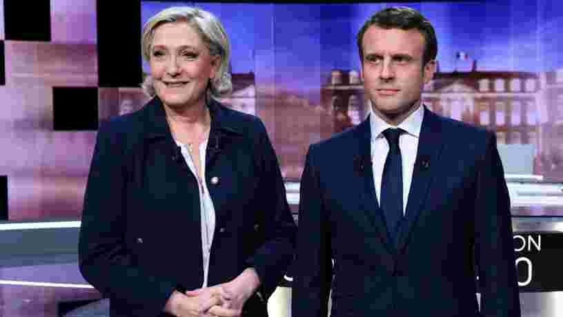 Marine Le Pen a mentionné une rumeur pendant le débat qui venait à peine de faire surface sur 4chan — une enquête vient d'être ouverte
