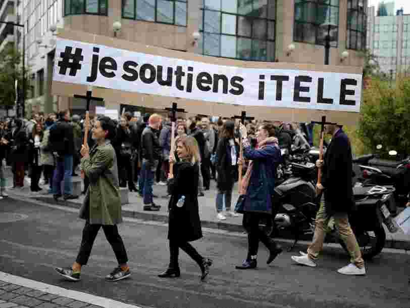 Les salariés d'iTélé approchent du mois de grève — deux ministres recevront la direction pour proposer une médiation