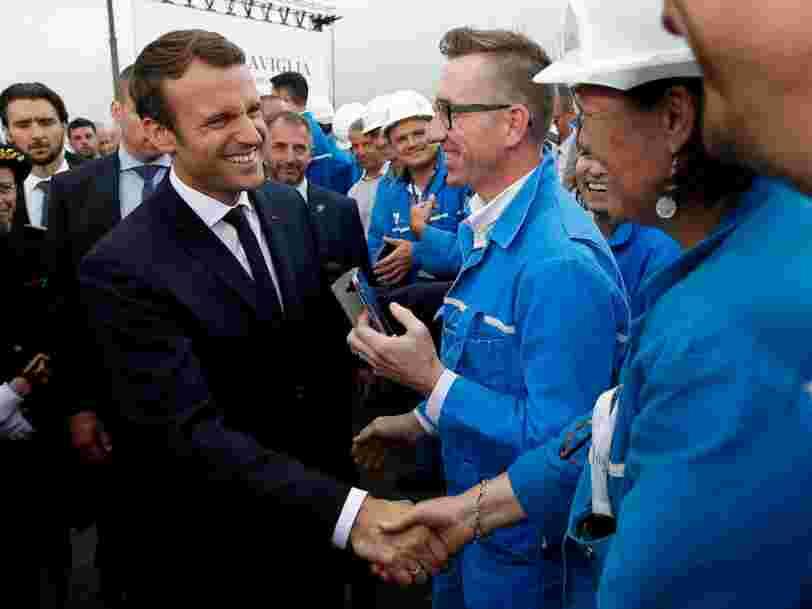 Emmanuel Macron efface un accord passé par François Hollande pour nationaliser temporairement les chantiers navals de Saint-Nazaire