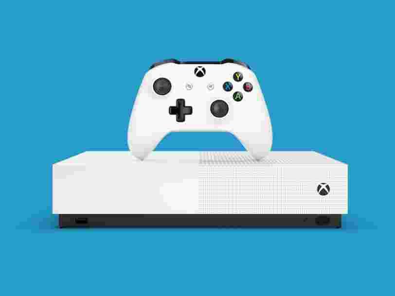 Microsoft officialise sa nouvelle Xbox One S sans disque dur et donne son prix