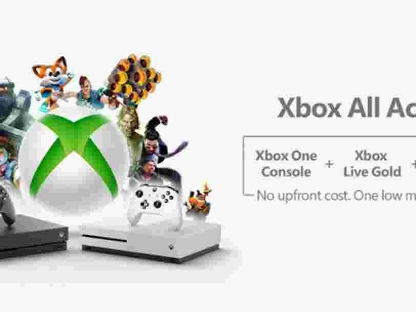Microsoft lance un programme d'abonnement ambitieux pour la Xbox — et ça donne un aperçu de l'avenir des jeux vidéo