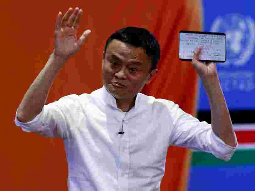 A la tête d'un groupe internet valorisé 230Mds$, Jack Ma utilise sa fortune personnelle pour créer un fonds pour les jeunes entrepreneurs africains de la tech