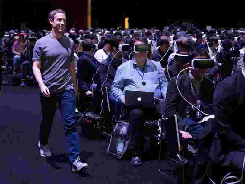 Facebook condamné à payer 500M€ dans le procès Oculus