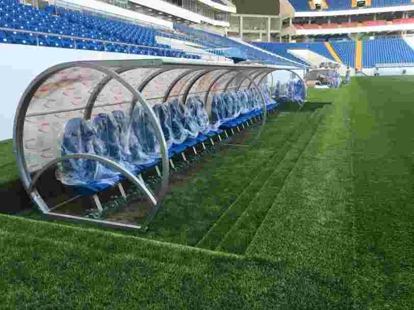 Une entreprise normande va créer les bancs de touche sur lesquels Messi et Kylian Mbappé seront assis pendant la prochaine Coupe du monde de foot