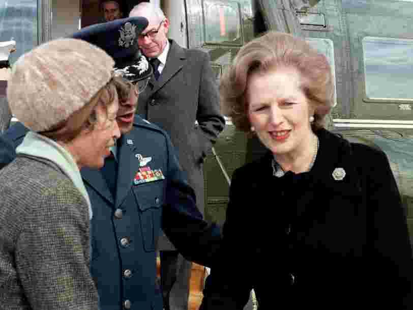 Il y a Margaret Thatcher derrière les propositions économiques des candidats de la primaire de droite selon un économiste