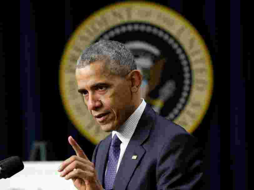 Le président Barack Obama annonce des représailles après le piratage russe de l'élection américaine