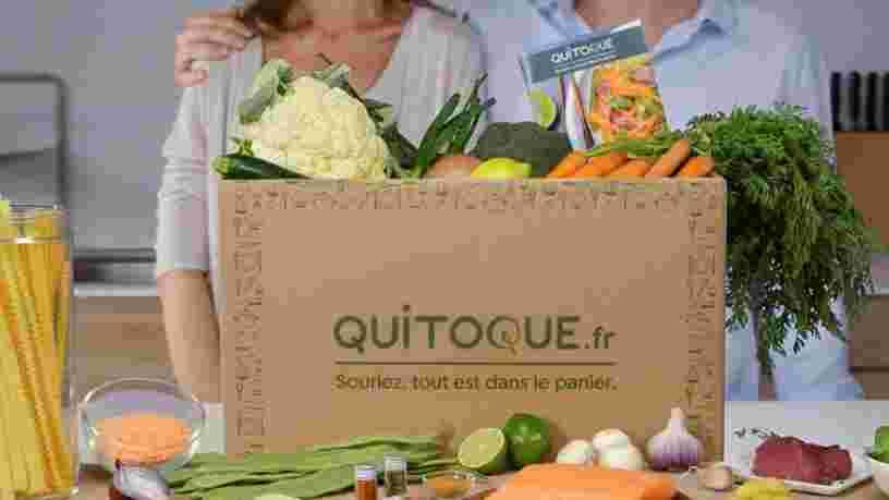 Carrefour rachète la startup de livraison de paniers à cuisiner Quitoque