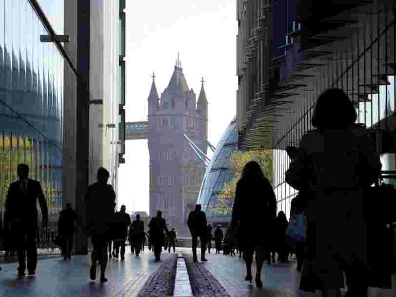 Paris espère gratter 10.000 emplois à la finance londonienne grâce au Brexit
