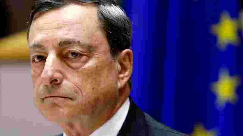 Le Brexit fera plus de mal au Royaume-Uni qu'à l'Europe, estime Mario Draghi