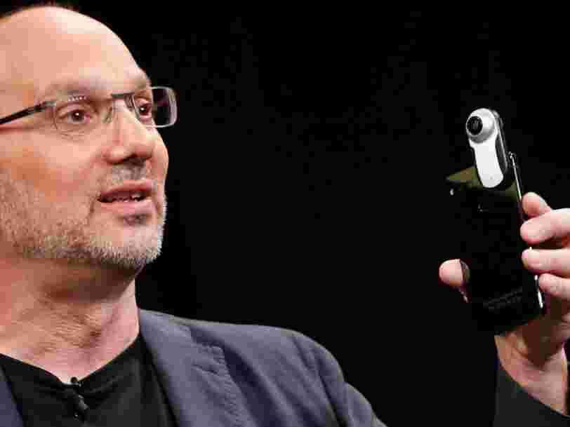 Le créateur d'Android, Andy Rubin, a un nouvel investisseur dans sa startup — Amazon