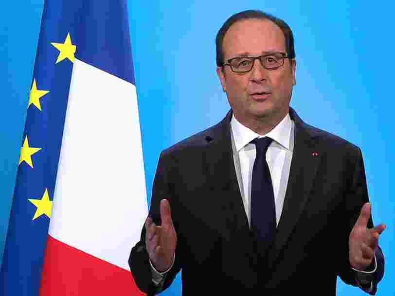 François Hollande annonce en direct qu'il ne se présentera pas à l'élection présidentielle de 2017