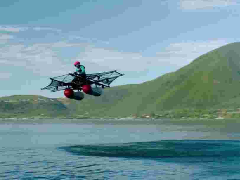 La voiture volante financée par Larry Page sera mise en vente avant la fin de l'année