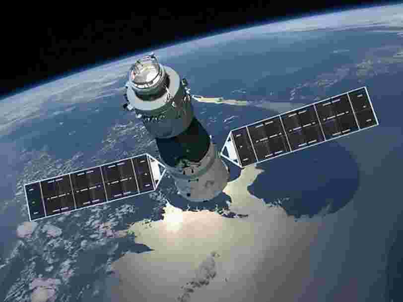 La station spatiale chinoise à la dérive depuis 2 ans pourrait se désintégrer dans l'atmosphère terrestre d'ici quelques jours