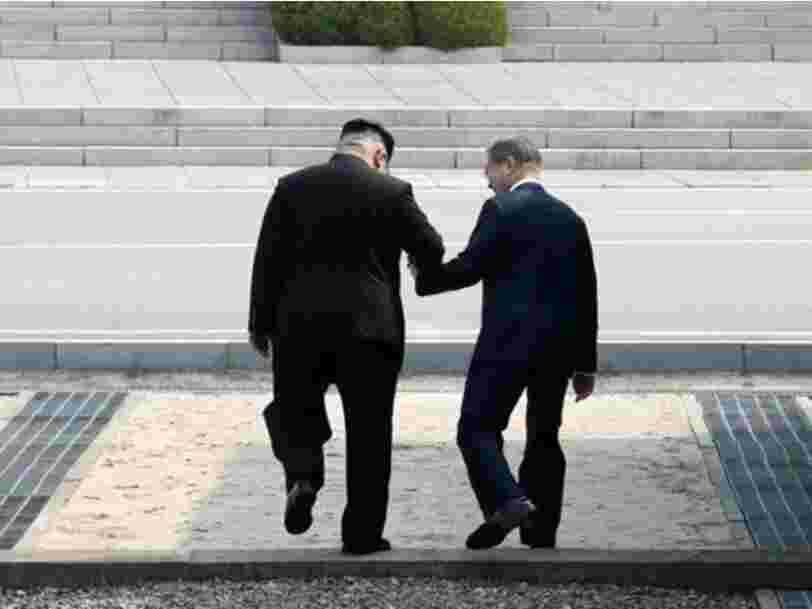 Kim Jong-un a pris quelques libertés lors de sa rencontre avec le président sud-coréen — et cela pourrait avoir de grandes implications pour Trump