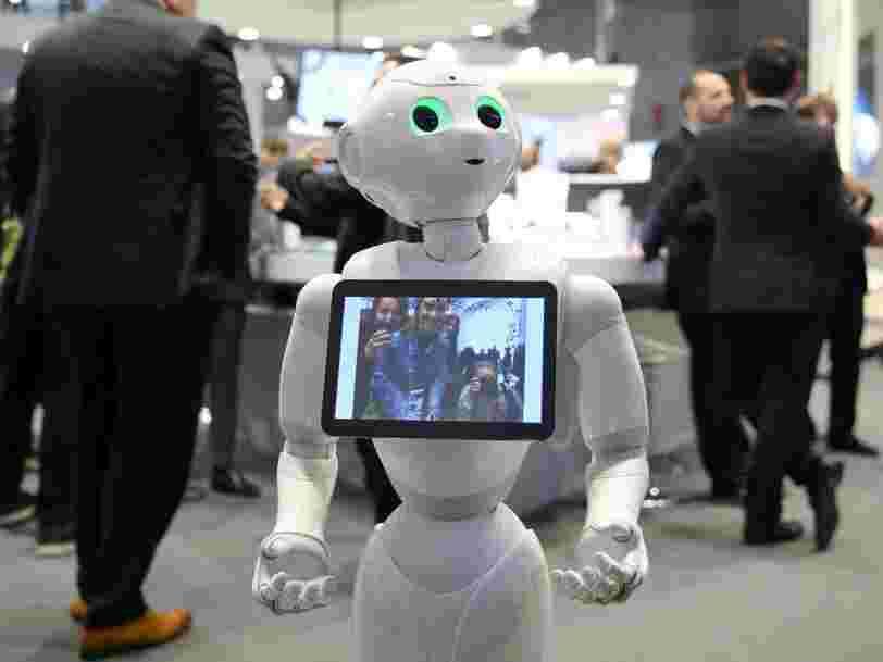 De plus en plus de salariés dans le secteur des banques redoutent de se faire remplacer par des robots