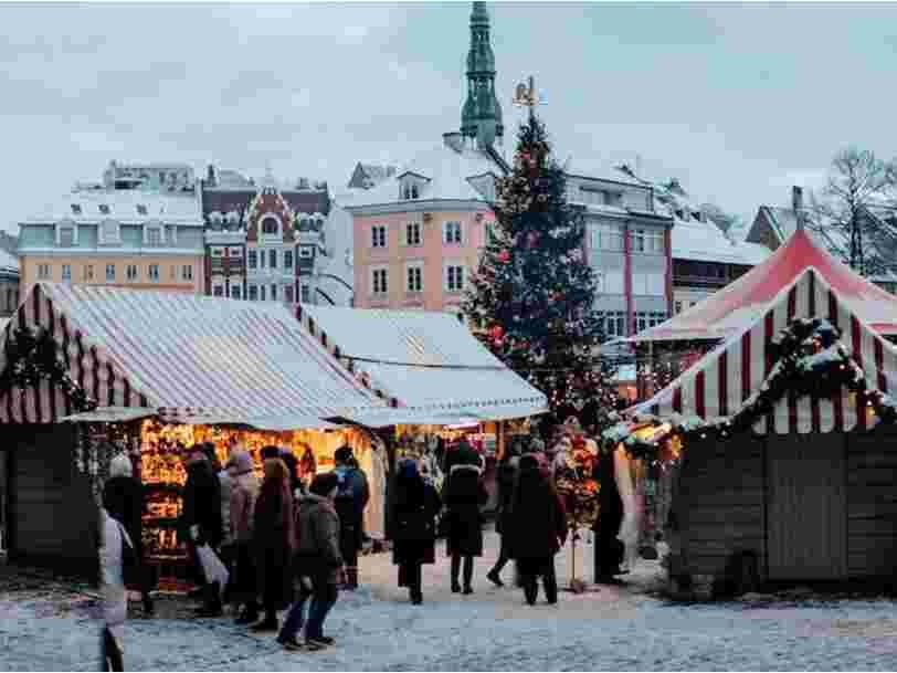 Riga a été élue meilleure ville rapport qualité/prix pour un week-end marché de Noël — et vous n'y avez sans doute jamais pensé