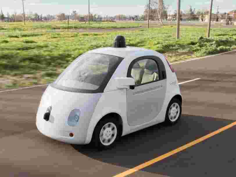 Google revoit apparemment ses ambitions dans la voiture autonome