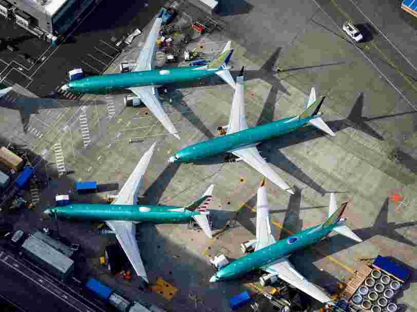 Boeing réussit à convaincre la maison-mère de British Airways de lui commander des 737 Max