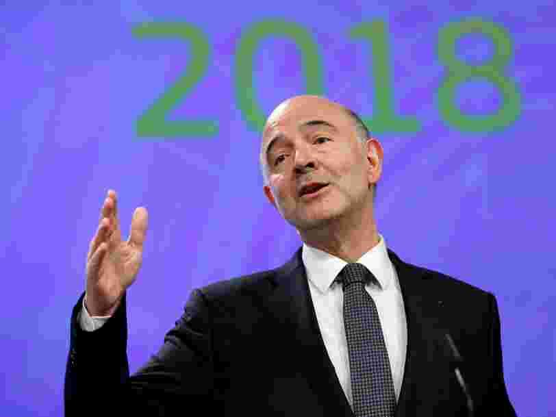 Le commissaire européen Pierre Moscovici reconnaît 4 erreurs sur la gestion de la crise de la dette grecque