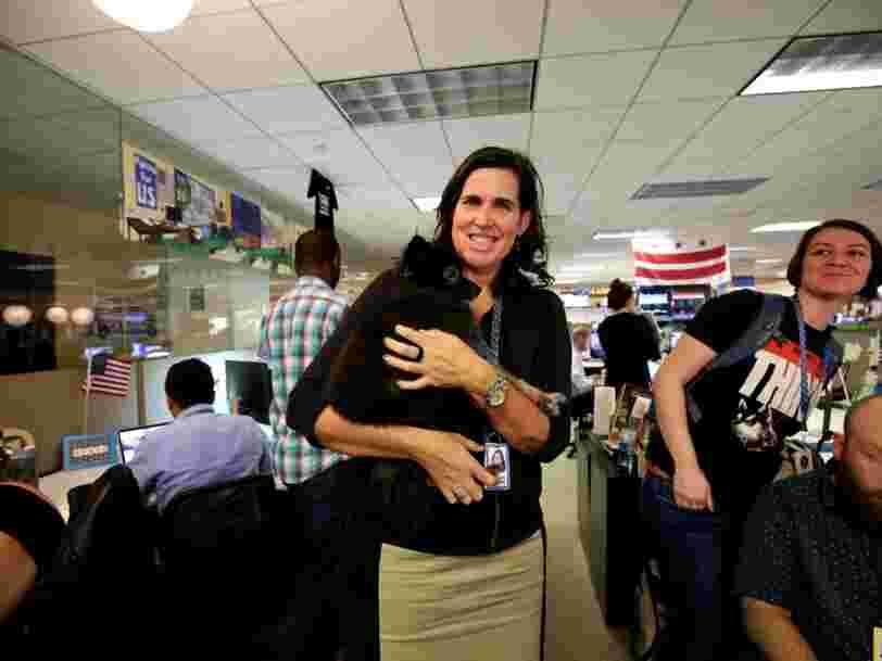 Comment une ex-employée de Google a convaincu des développeurs de quitter la Silicon Valley pour rejoindre la campagne d'Hillary Clinton