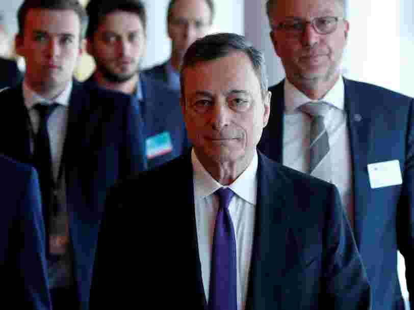 La BCE laisse inchangée sa politique monétaire et n'envisage pas de remontée de ses taux avant l'été 2019