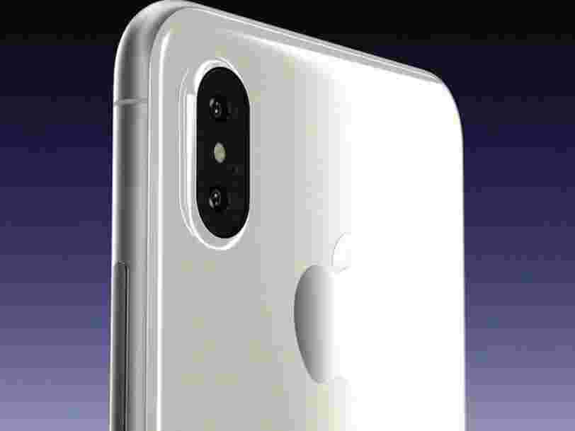 Le futur iPhone 8 avec un nouveau design s'appellera 'iPhone X' d'après des bribes de code qui ont fuité
