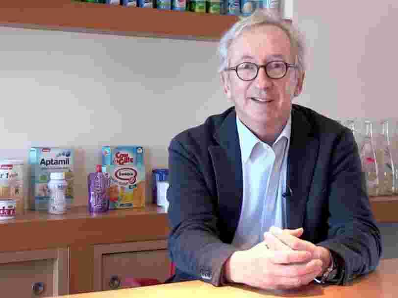 Franck Riboud va quitter la présidence de Danone qui reviendra au DG, selon Le Monde