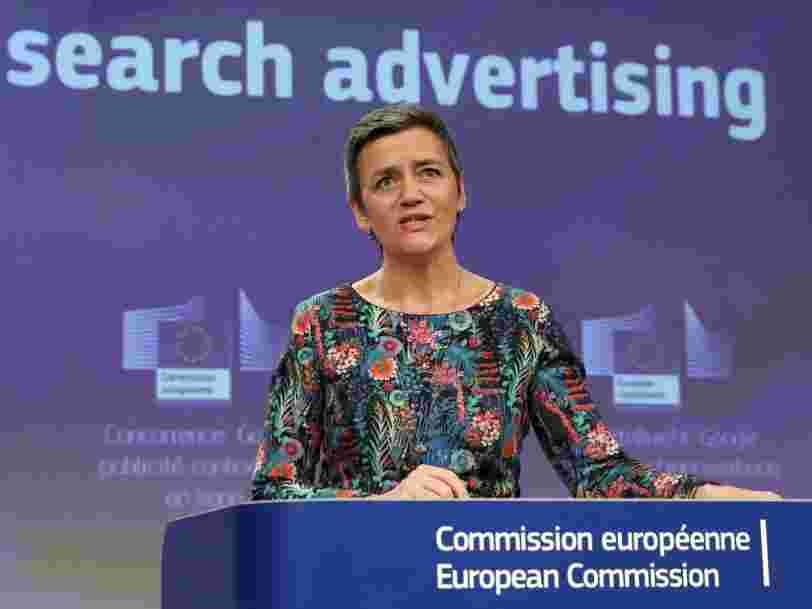 Bruxelles inflige une nouvelle amende à Google pour le forcer à changer ses pratiques