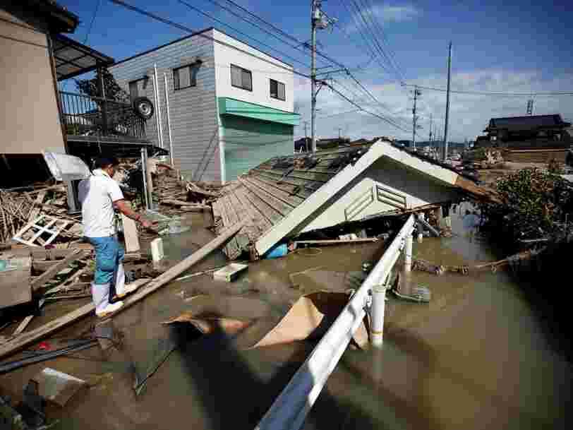 La première plateforme d'échange de crypto-monnaies donne 1 M$ aux victimes des inondations au Japon
