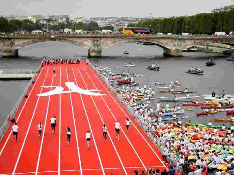 Paris s'est transformée en stade olympique géant pour montrer qu'elle peut accueillir les JO 2024 — voici un aperçu