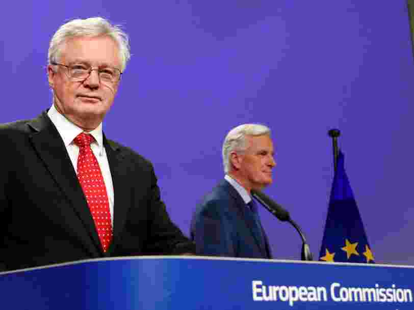 Les négociations sur le Brexit n'avancent plus — il y a une impasse sur le montant de la facture que Londres devra régler