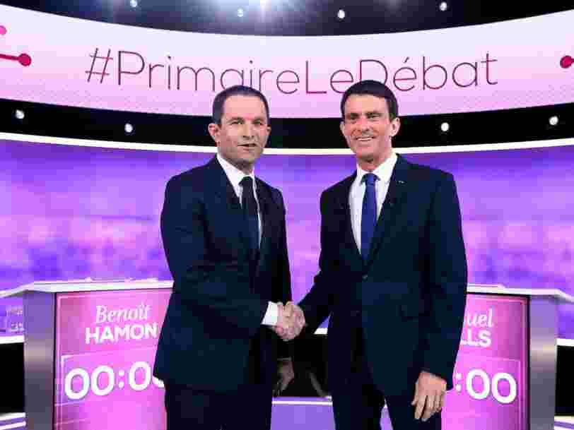 Les déclarations les plus marquantes du débat entre Benoît Hamon et Manuel Valls