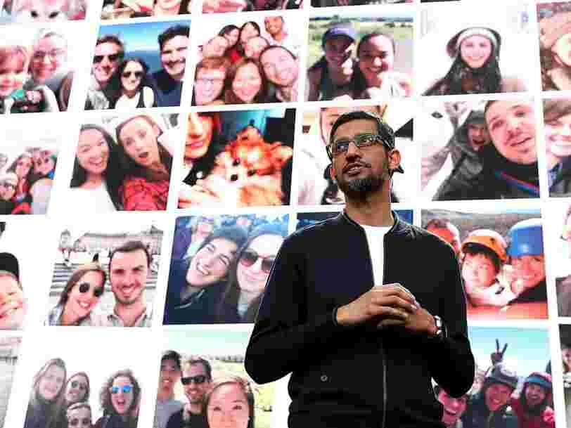 Alphabet, la maison-mère de Google, rate son objectif de CA — son action chute