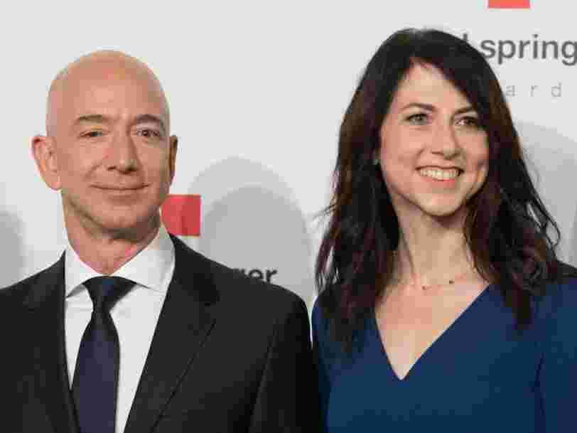 MacKenzie Bezos, l'ex-femme de Jeff Bezos, devient la 3e femme la plus riche du monde suite à son divorce