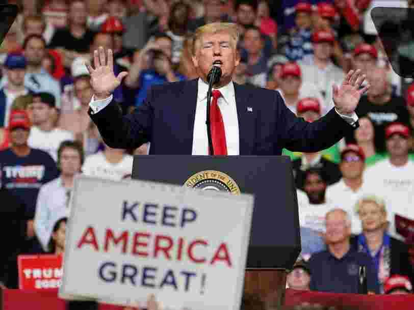 Donald Trump promet déjà de guérir le cancer, d'éradiquer le Sida et d'envoyer les Américains sur Mars