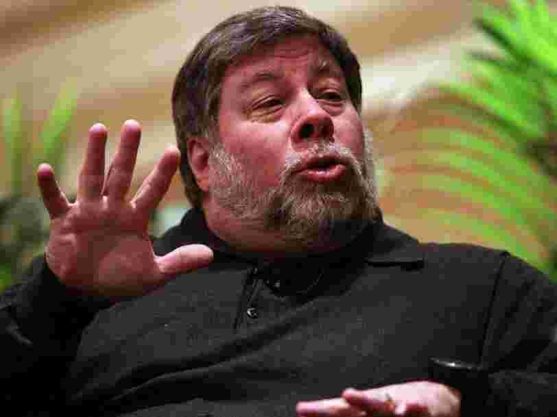 Le co-fondateur d'Apple Steve Wozniak évoque sa philosophie sur la vie et le travail
