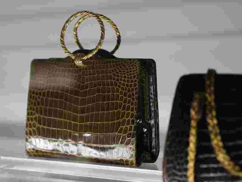 Gucci a trouvé une solution simple pour s'assurer de l'origine des peaux de reptiles utilisées pour ses sacs à main