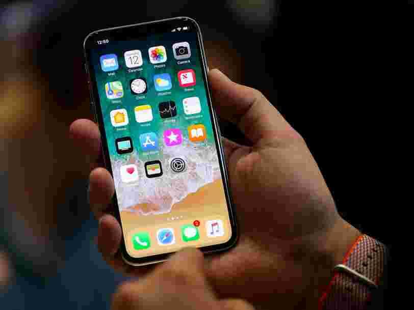 Apple supprime une fonctionnalité de l'iPhone X que 55% des propriétaires d'iPhone disent utiliser