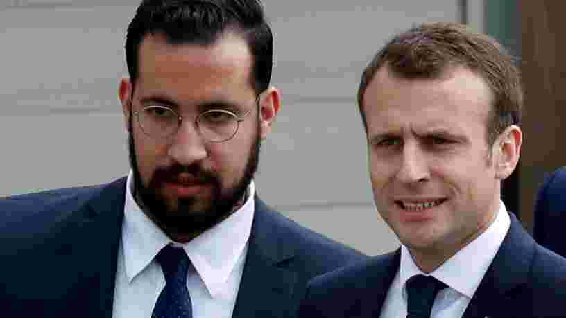 Alexandre Benalla dit qu'il utilisait la messagerie cryptée Telegram avec Emmanuel Macron pour lui donner son avis sur le mouvement des 'Gilets jaunes'