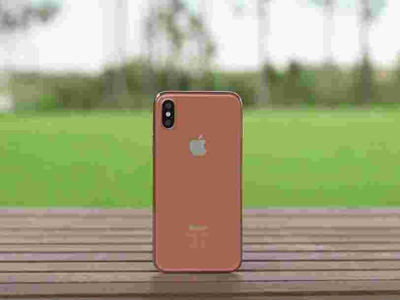 Une nouvelle vidéo montre à quoi pourrait ressembler l'iPhone 8 en cuivre doré