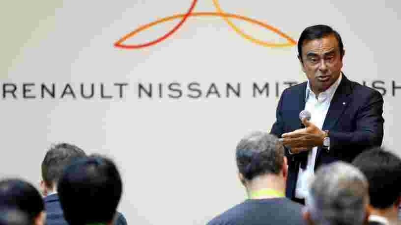 Carlos Ghosn dit qu'il ne s'attend pas à passer 4 années de plus à la tête de Renault