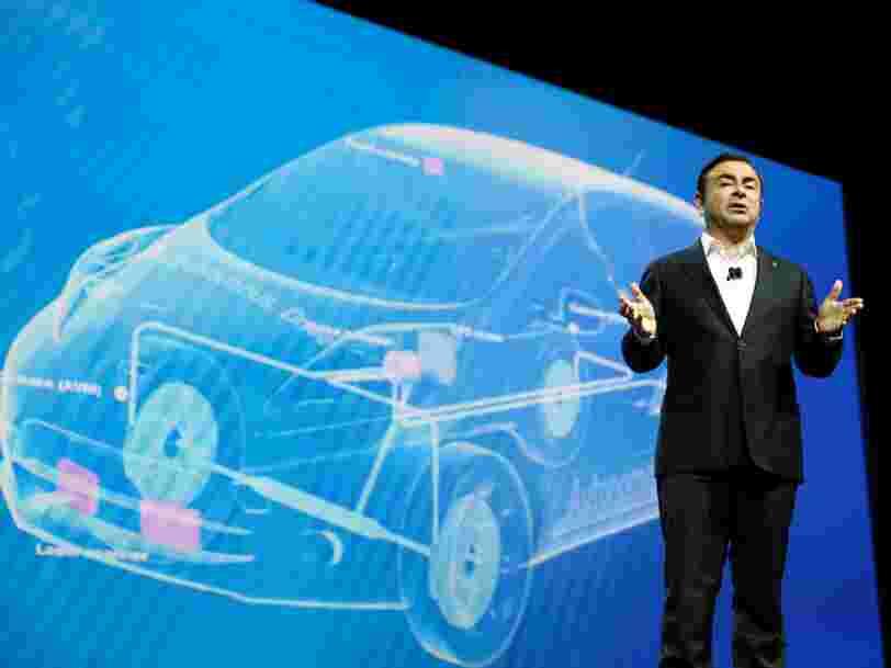 Carlos Ghosn démissionne de son poste de DG de Nissan