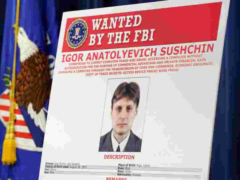 Les Etats-Unis ont lancé des poursuites contre 2 espions russes et 2 hackers pour le piratage de Yahoo